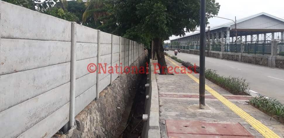 Harga pagar panel beton precast